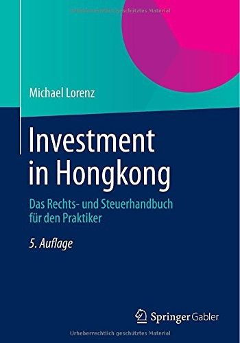 Investment in Hong Kong